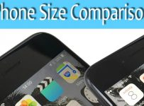 Phone Size Comparison
