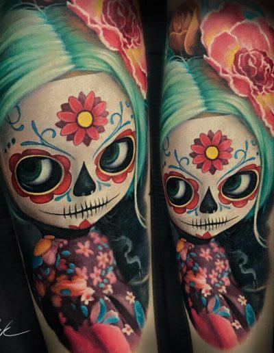 Tattoo Studio Skulltattoo aus Bad Vilbel
